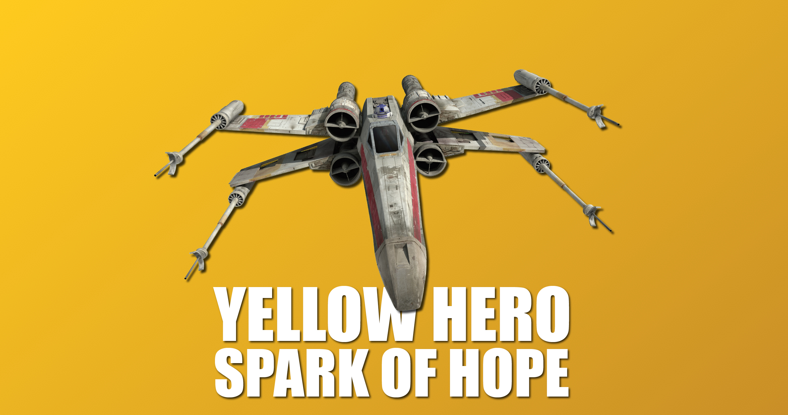 Spark of Hope Set Review - Yellow Hero