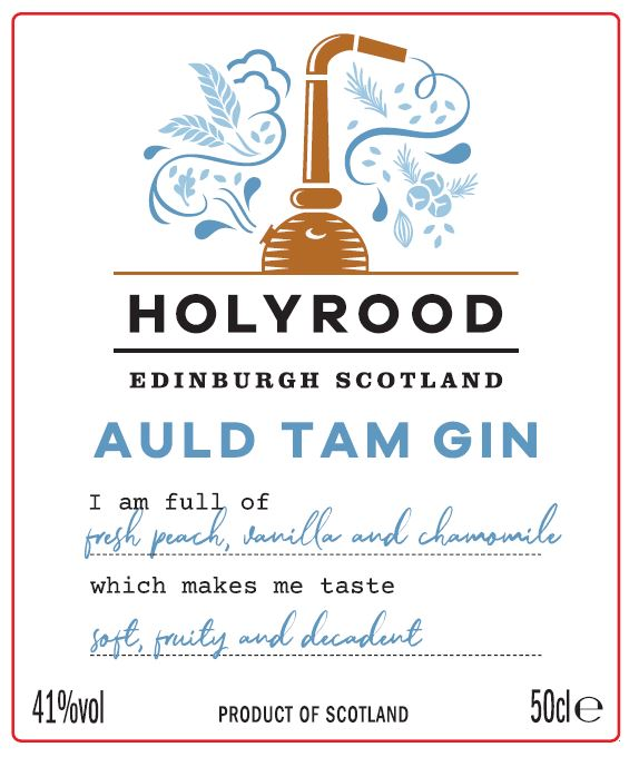 auld tam gin labelJPG