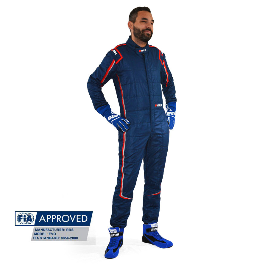 RRS FIA Evo Monte Carlo race suit Blue/Red