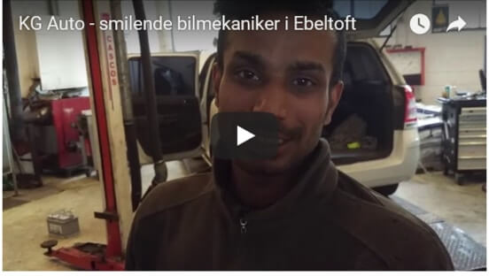 Automekaniker Ebeltoft video-præsentation på YouTube