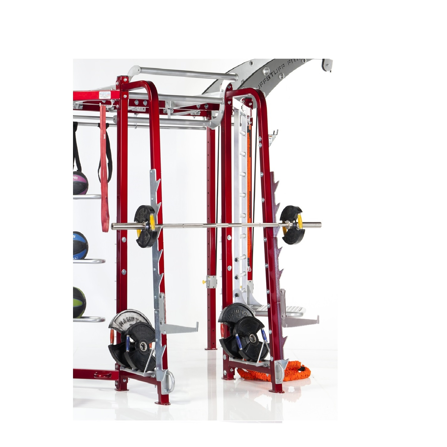 CT-8310 Squat/Press Racking Station