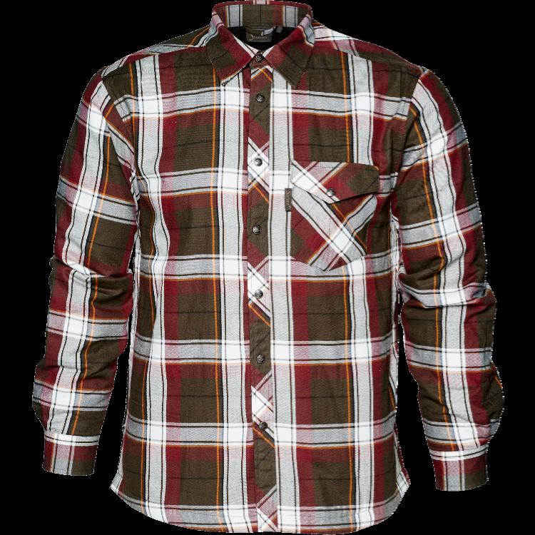Seeland skjorte Moscus Pine Green checkjpg