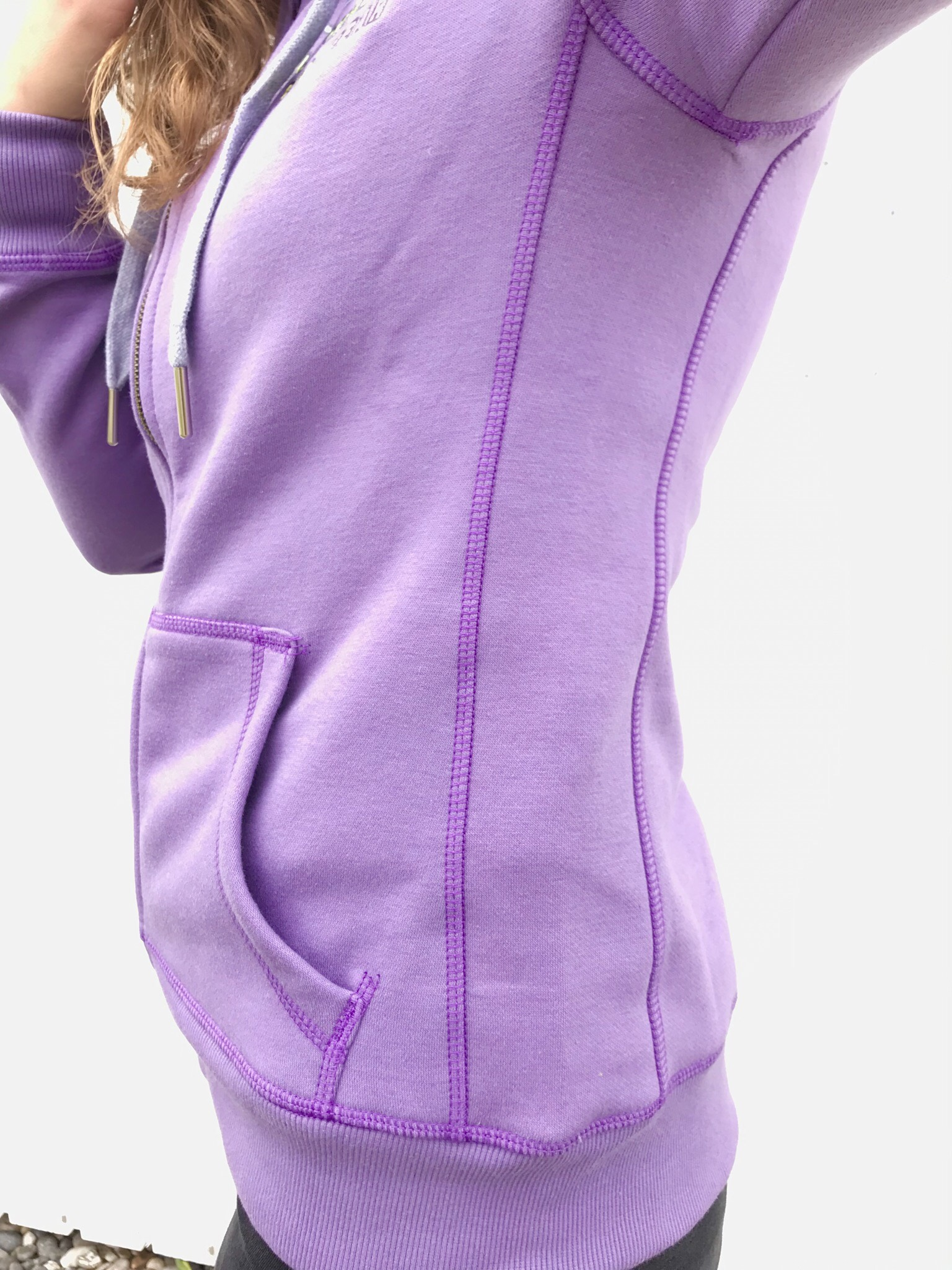 NEW: Woman Zip Up Hoodie