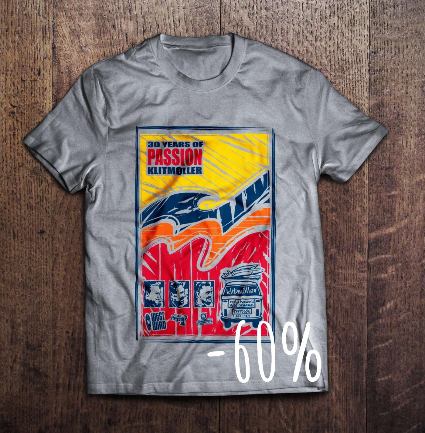 30 Years of Passion T-shirt (-60%)
