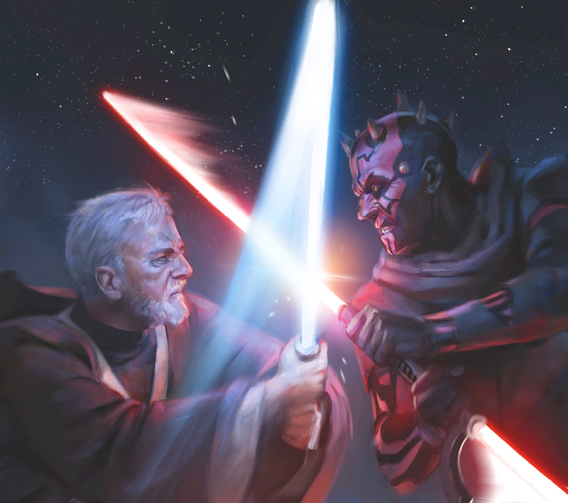 bitter rivalry lightsabers fightjpg