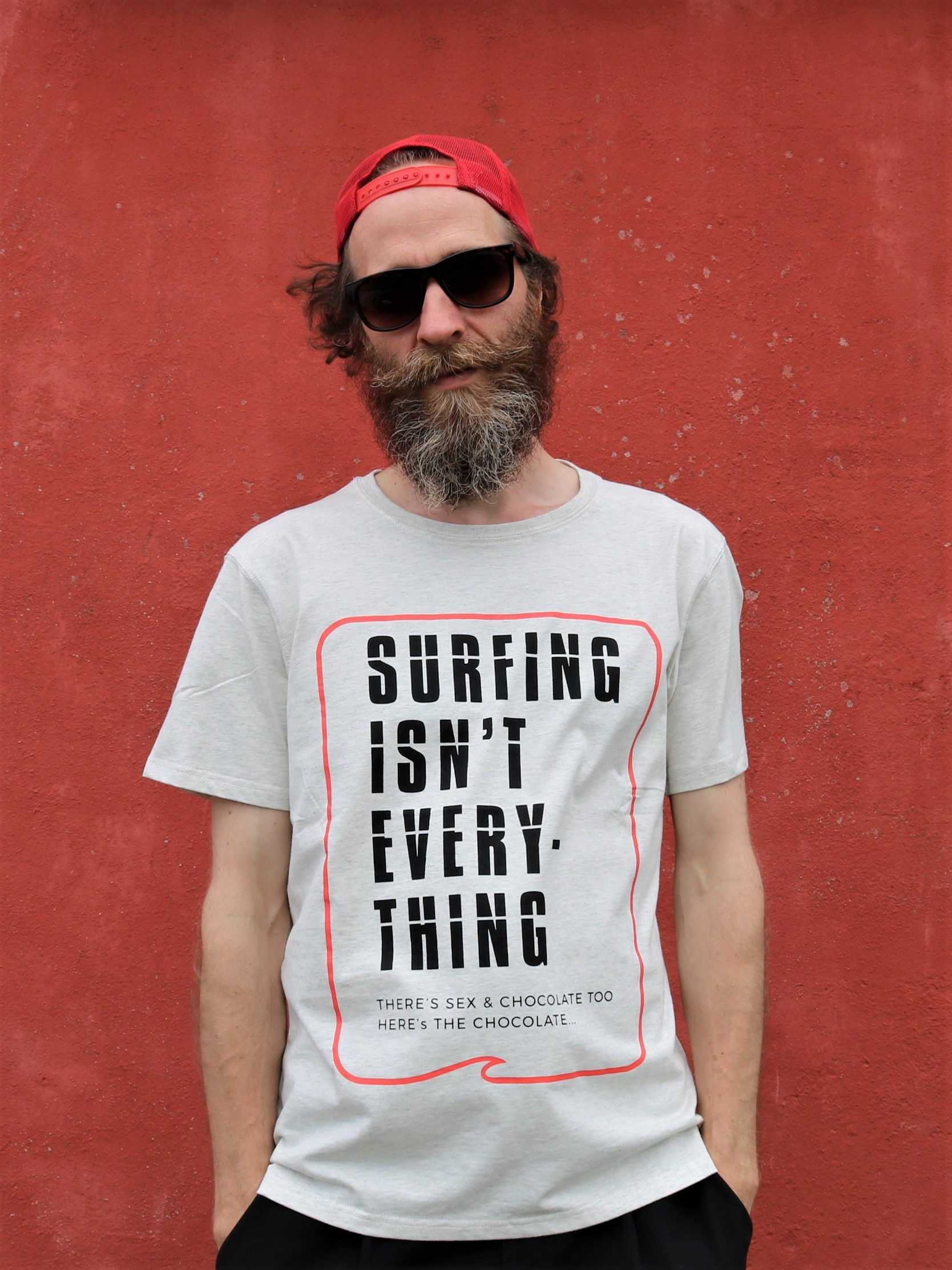 TS204 | Klitmøller T-shirt - Surfing isn´t