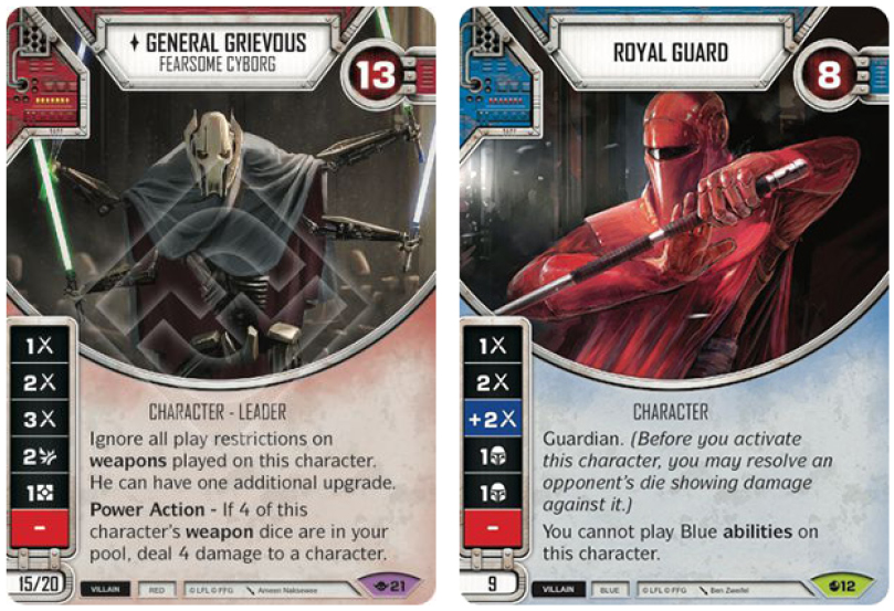 Grievous analysis characters1jpg