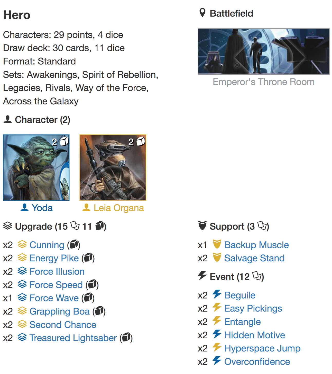 Leia3 Yoda deck listjpg