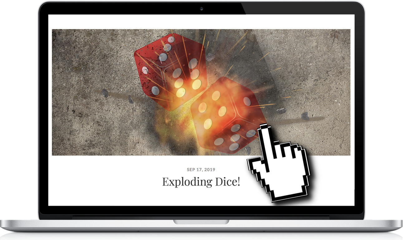 exploding dice set review THUMBNAILjpg