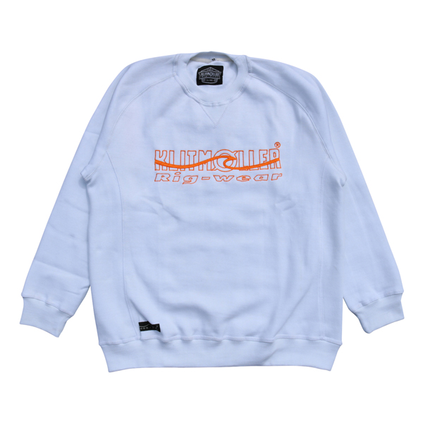 NEW Sweatshirt with chest logo embroidery