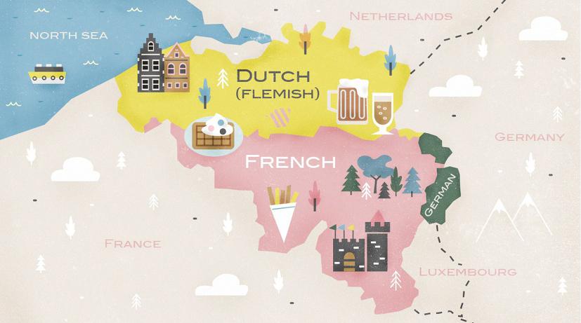 Belgium languagesjpg