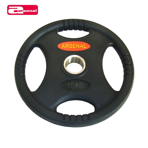 DB6061-01-25 URETHANE: OL Weight Plate Tri Grip