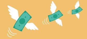 flyvende pengepng