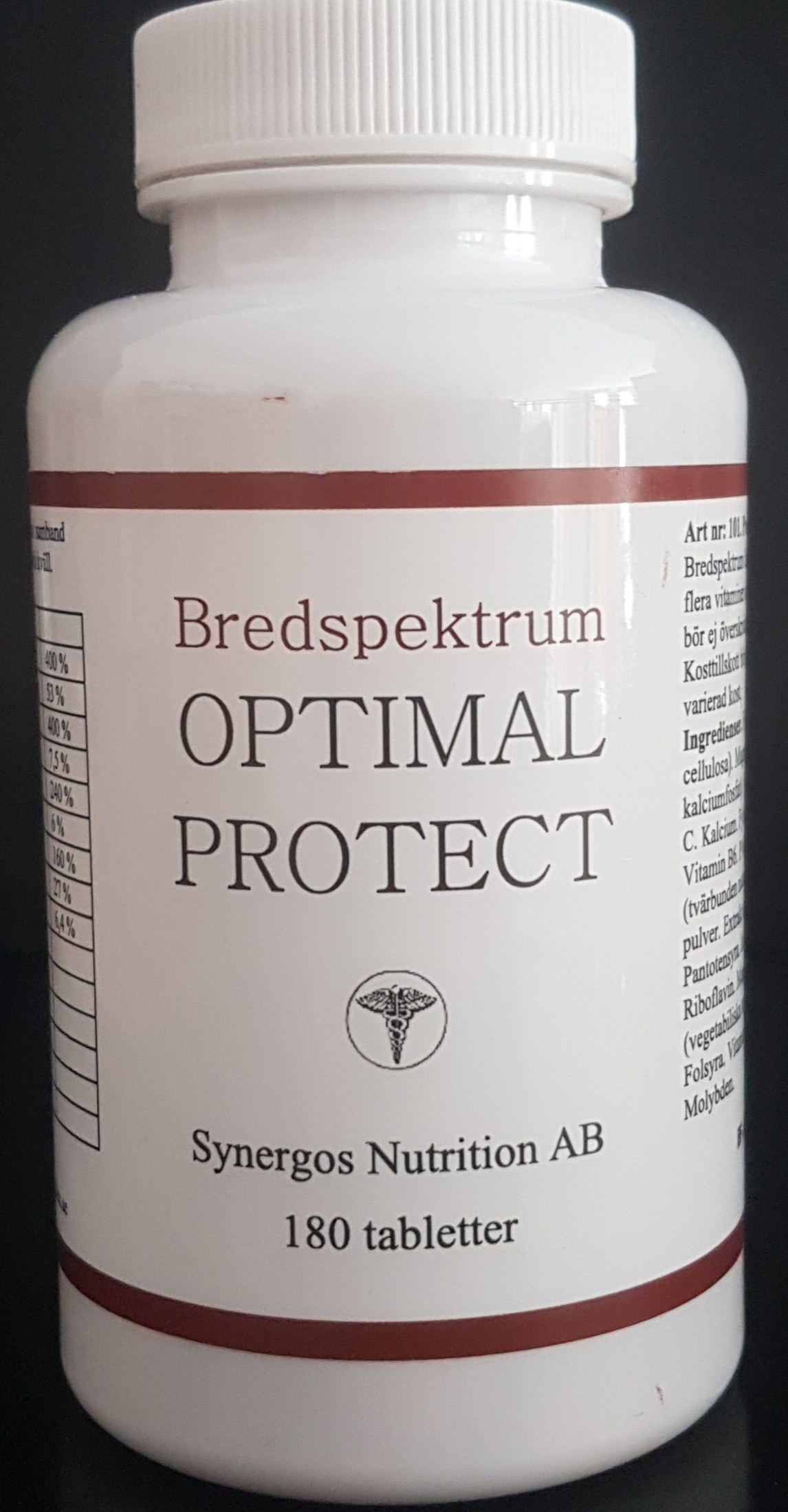 Optimal Protect - Bredspektrum vitaminer och minerlaer