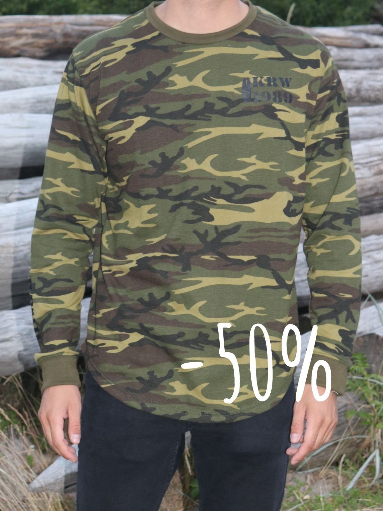 Klitmøller Camou shirt - GET 50% NOW