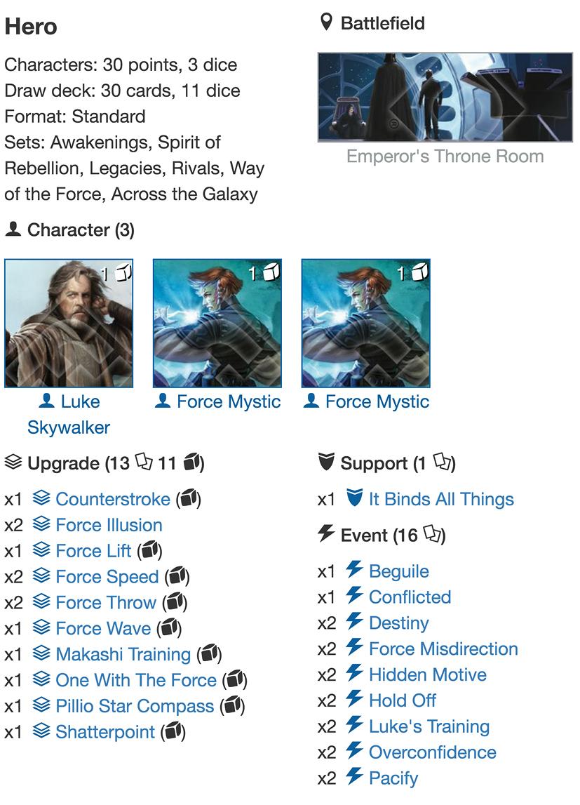 Lukes Mystics deck listjpg