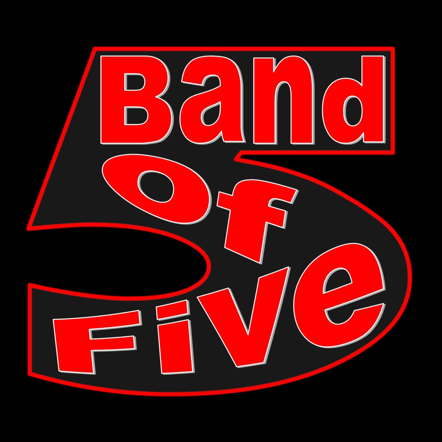 Band Of Five-coverband-logo