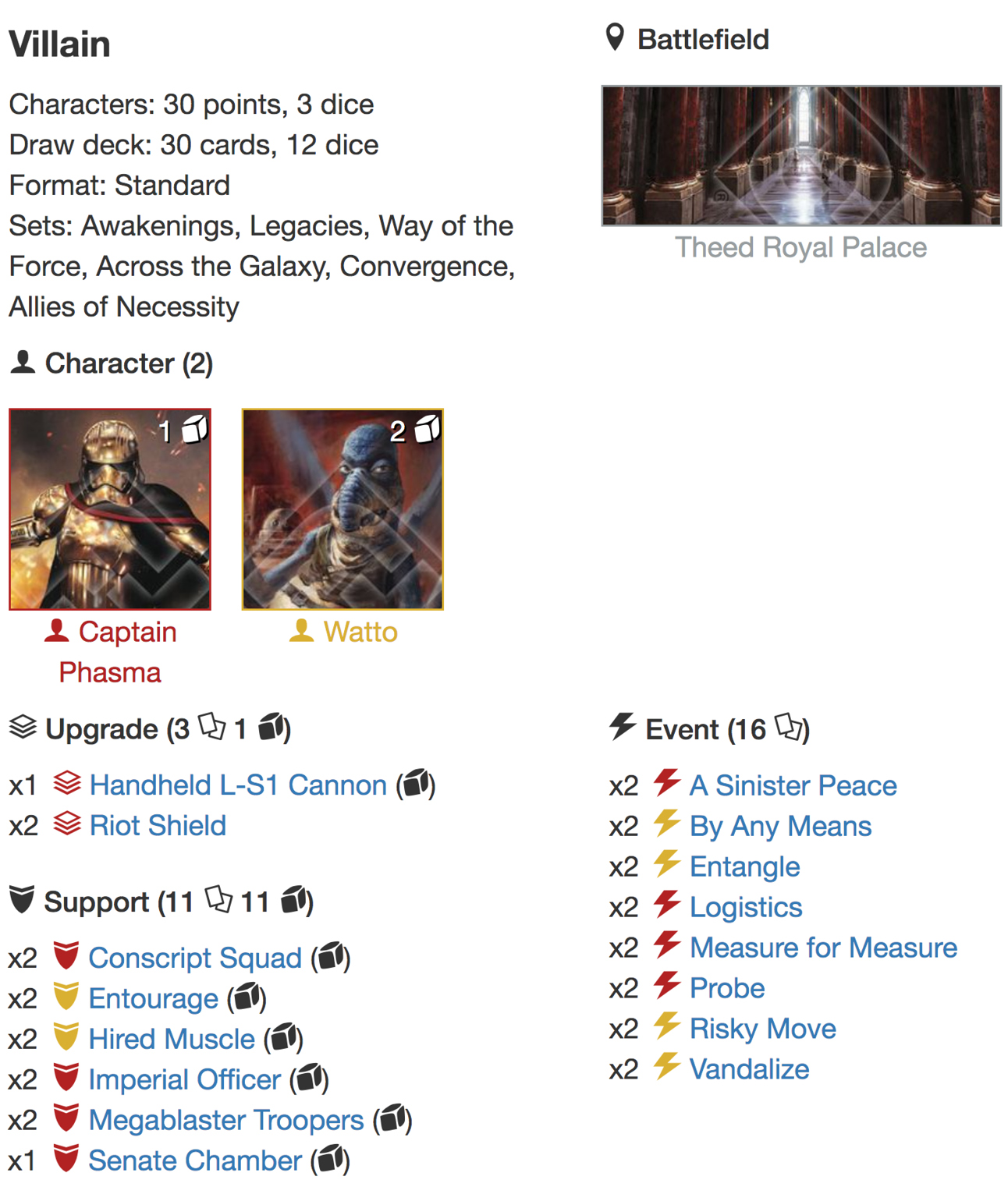 Phasma Watto deck listjpg