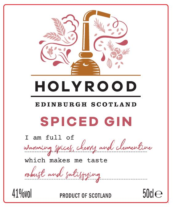 spiced gin labelJPG