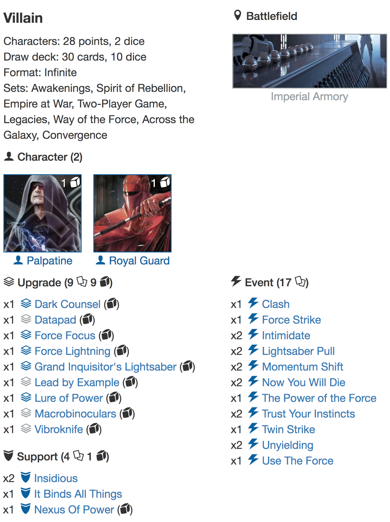 deck list Infinite3jpg