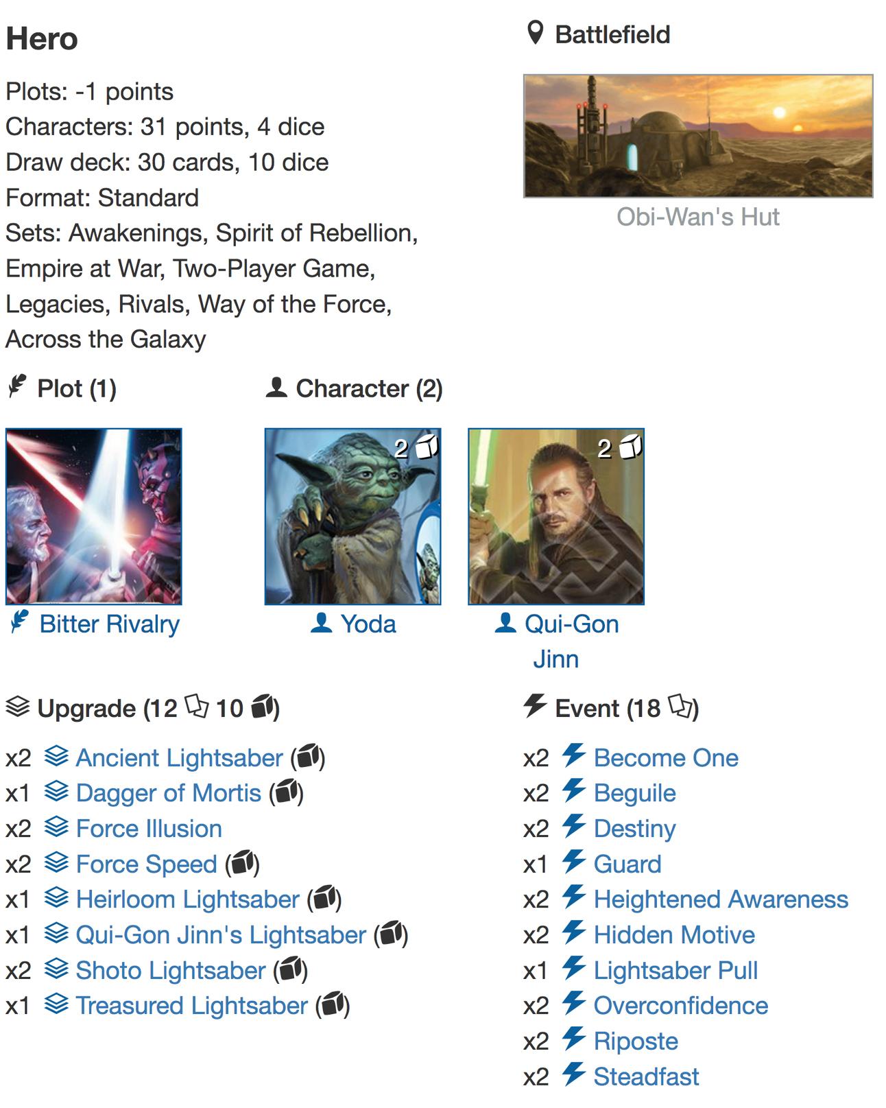 Yoda QGJ2 Deck Listjpg