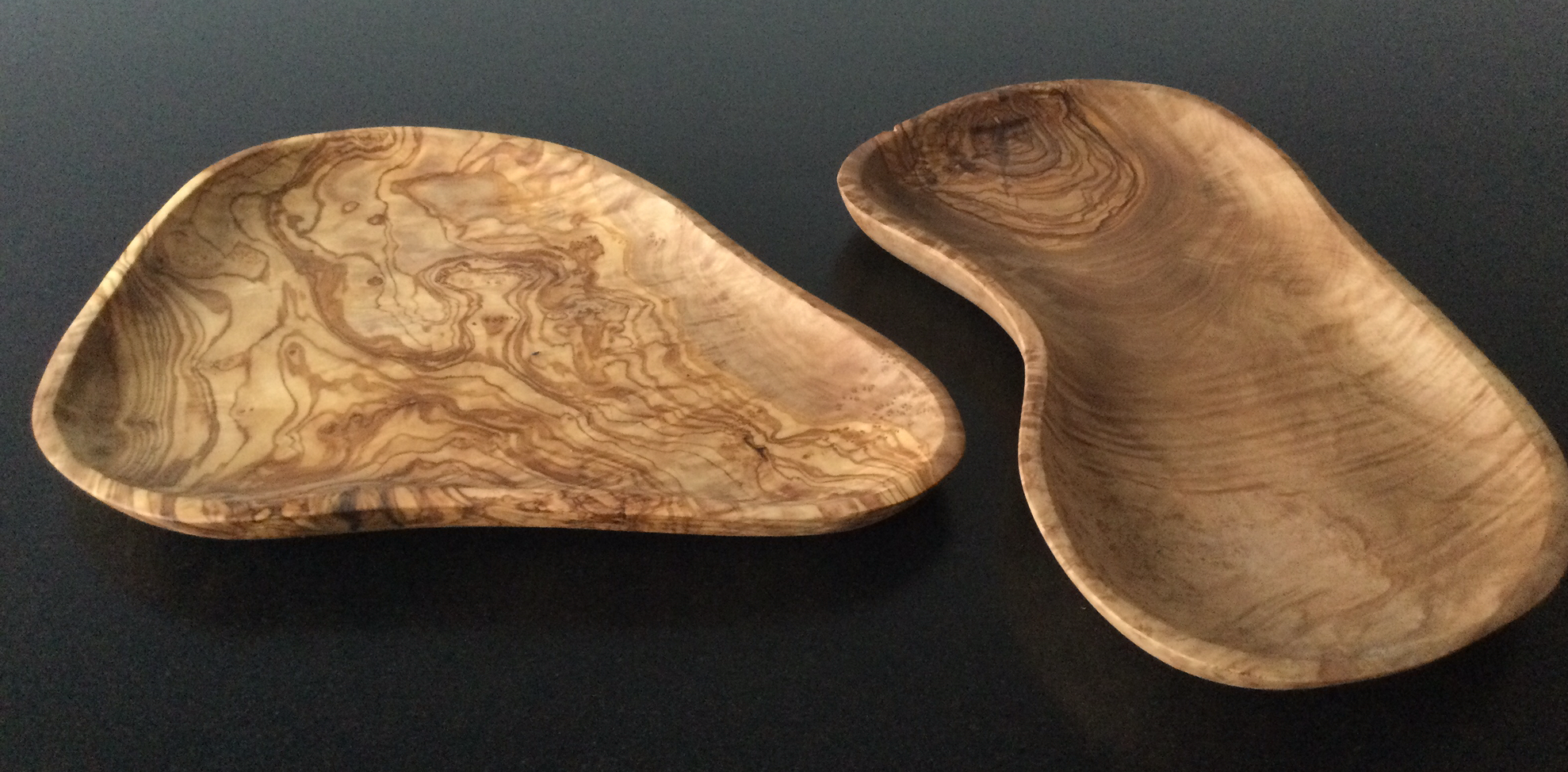 Olive Wood: Oval snacks/salad dish