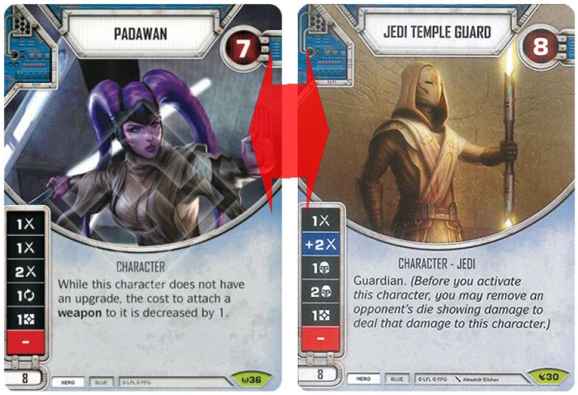 Padawan vs Temple Guardjpg