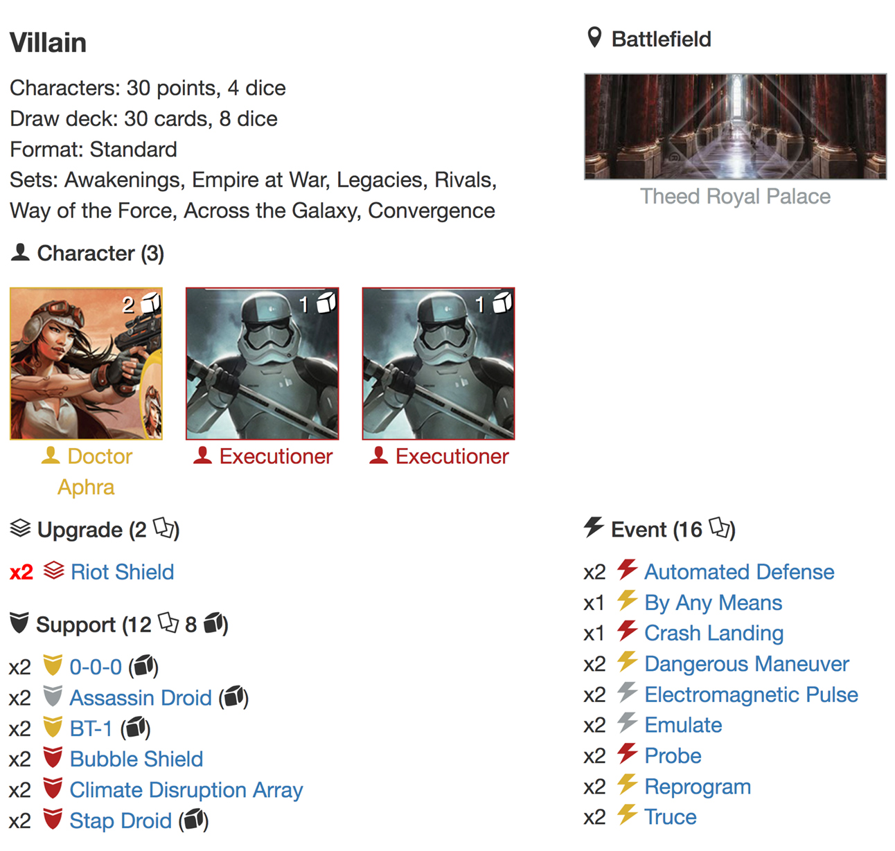 Aphra executioners deck list1jpg