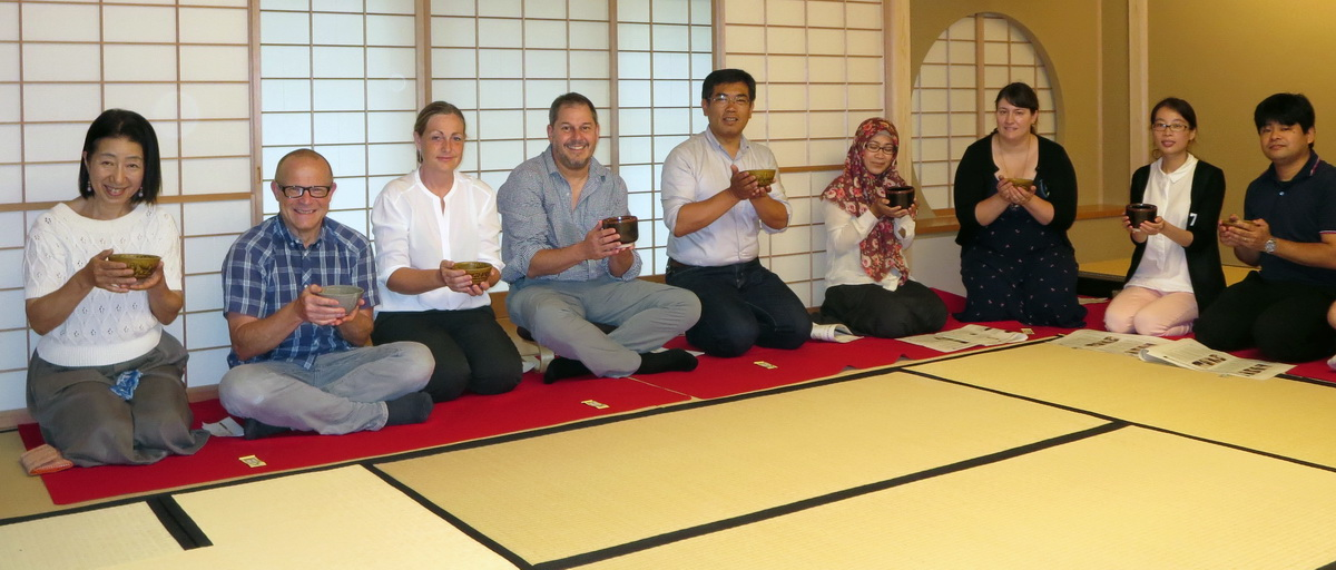 Tea ceremony at Nagoya Universityjpg