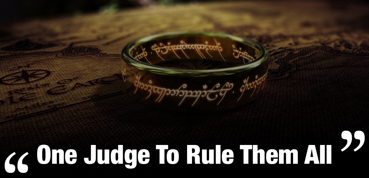 one Judge to rule them alljpg