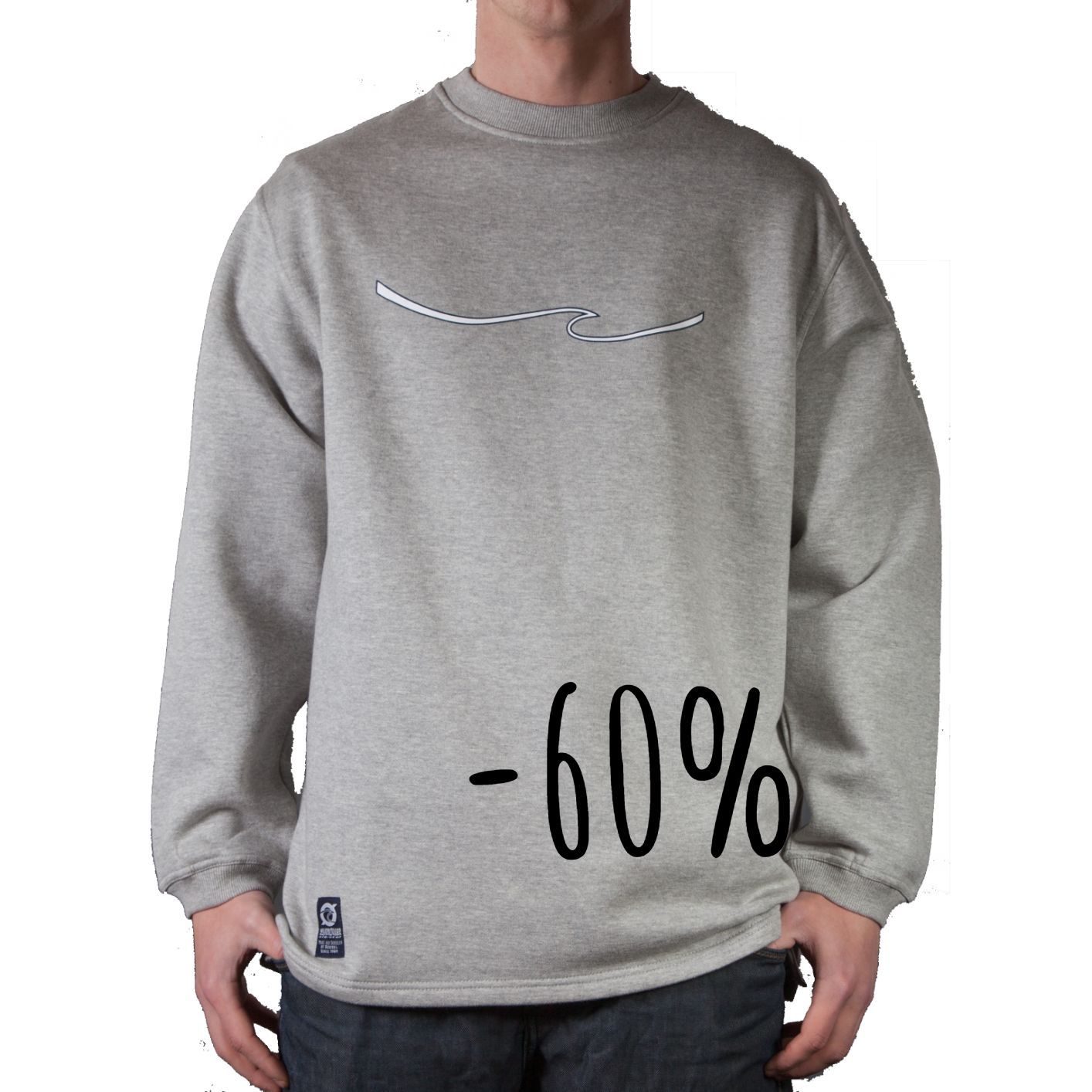 Sweatshirt Ørhage Light grey, Dark grey and Navy.