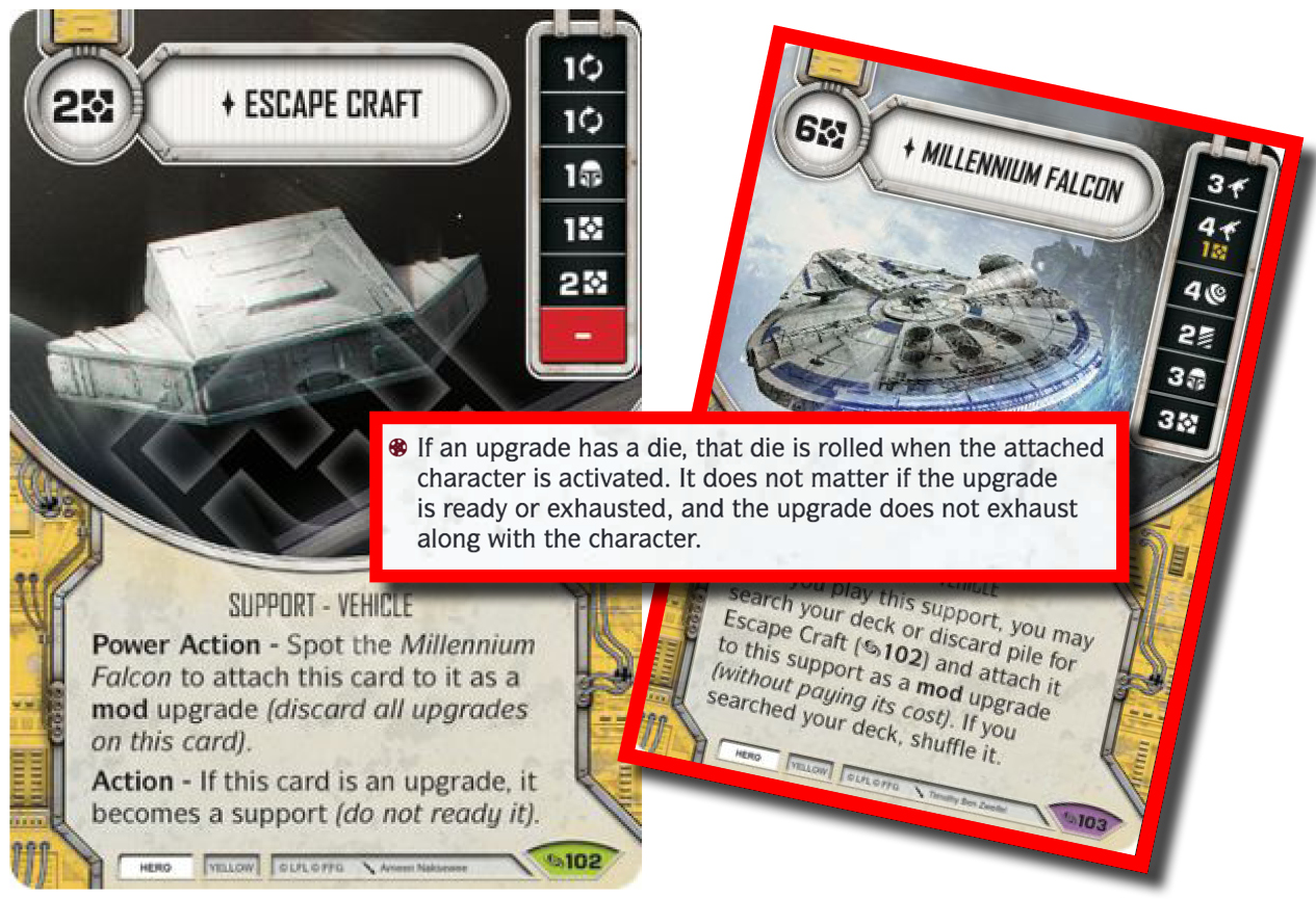 Across the Galaxy 102 Star Wars Destiny Escape Craft