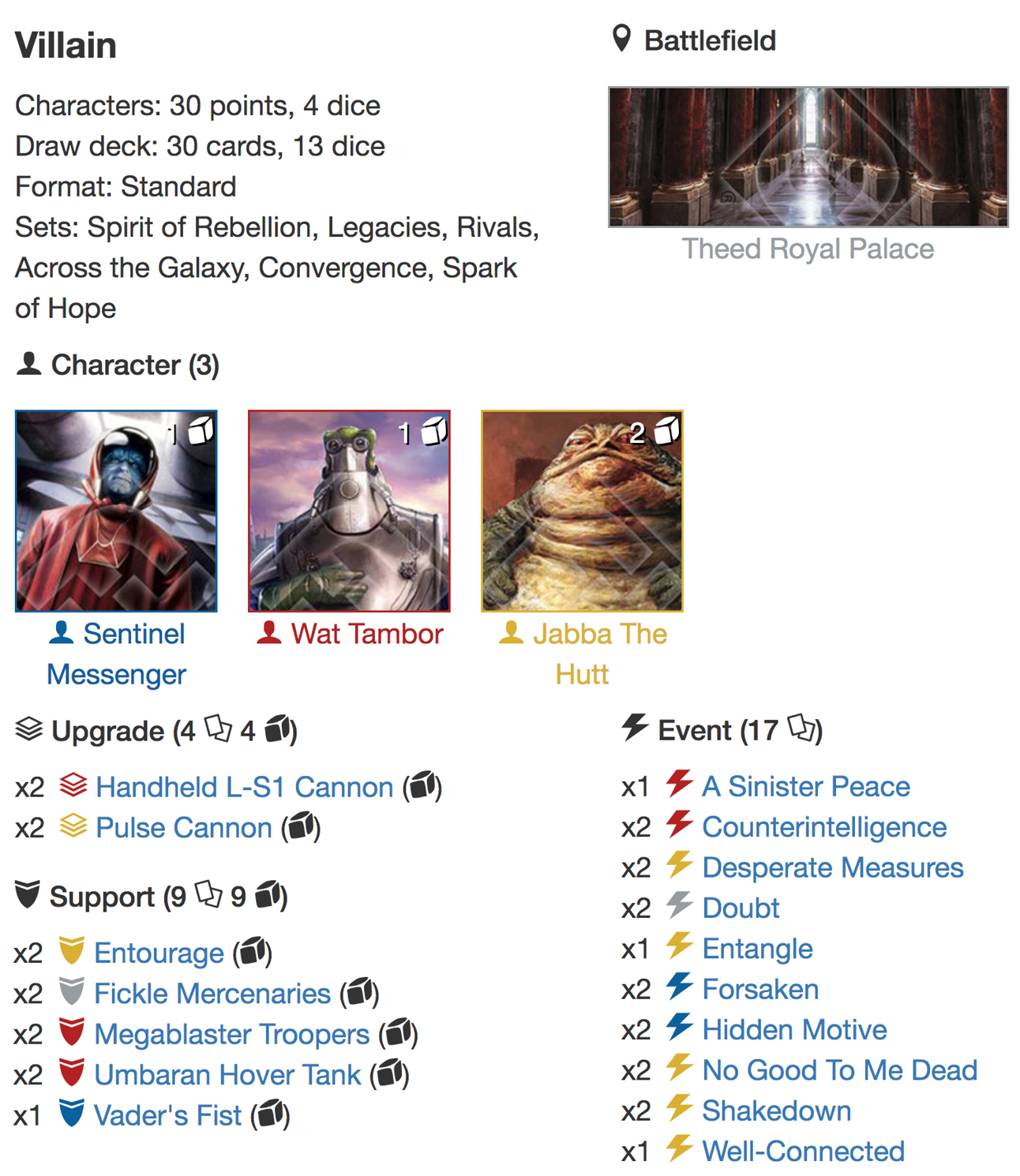 Jabba 3wide support deck listjpg