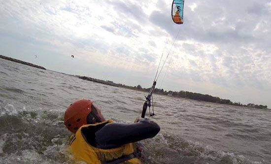 Never forget to learn body dragging it will make you a much safer and confident kitesurfer