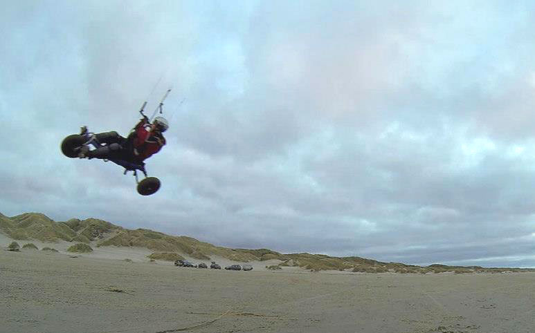 Kite buggying has many different styles too from freestyle, freeride to racing.