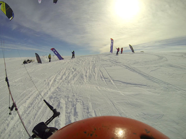 If you can kitesurf you can kite  snowboard or ski. An amazing new adventure to be experience